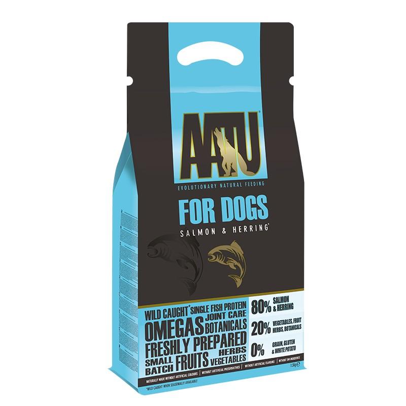 AATU 三文魚低敏天然糧 10kg