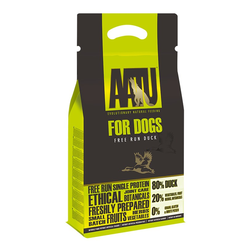AATU 鴨肉低敏天然糧5kg