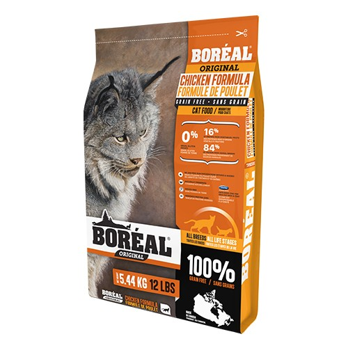Boreal雞肉全貓糧12lb