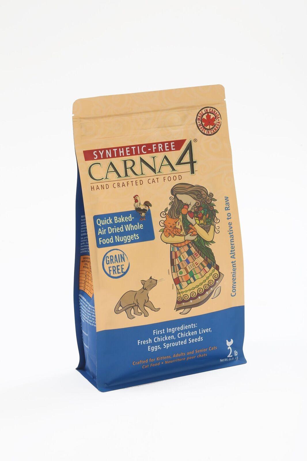 CARNA4 雞肉無穀物全貓配方2.2LB