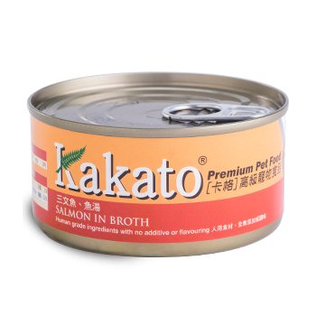 Kakato 三文魚湯罐頭70g