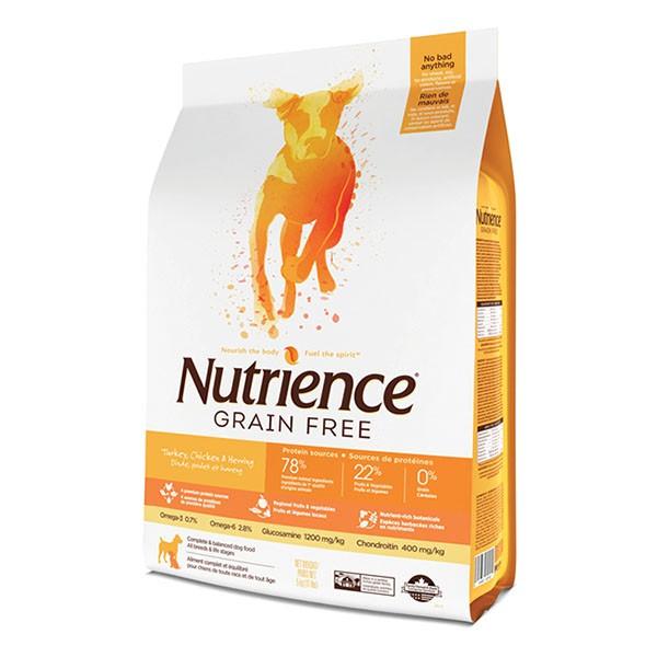 Nutrience 無穀物雞火雞三文魚配方2.5kg