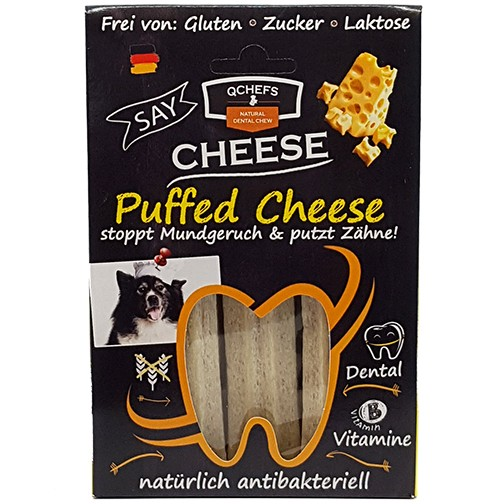 QCHEFS Puffed Cheese 重量芝士潔齒棒(鬆化)