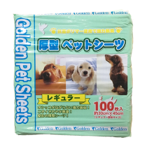 Golden pet sheet 100片裝(Green)