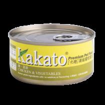 Kakato 雞肉蔬菜罐頭170g