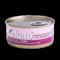 Kakato 牛肉慕絲罐頭70g