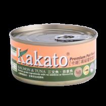 Kakato 三文吞拿魚罐頭70g