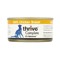 Thrive Complete貓罐裝糧-100%雞胸75g