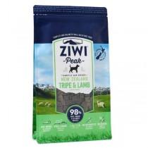 Ziwipeak 羊肉草肚狗糧1kg
