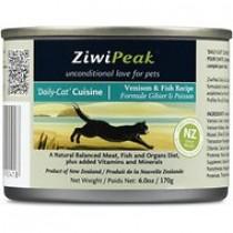 Ziwipeak 魚+鹿肉貓罐糧85g